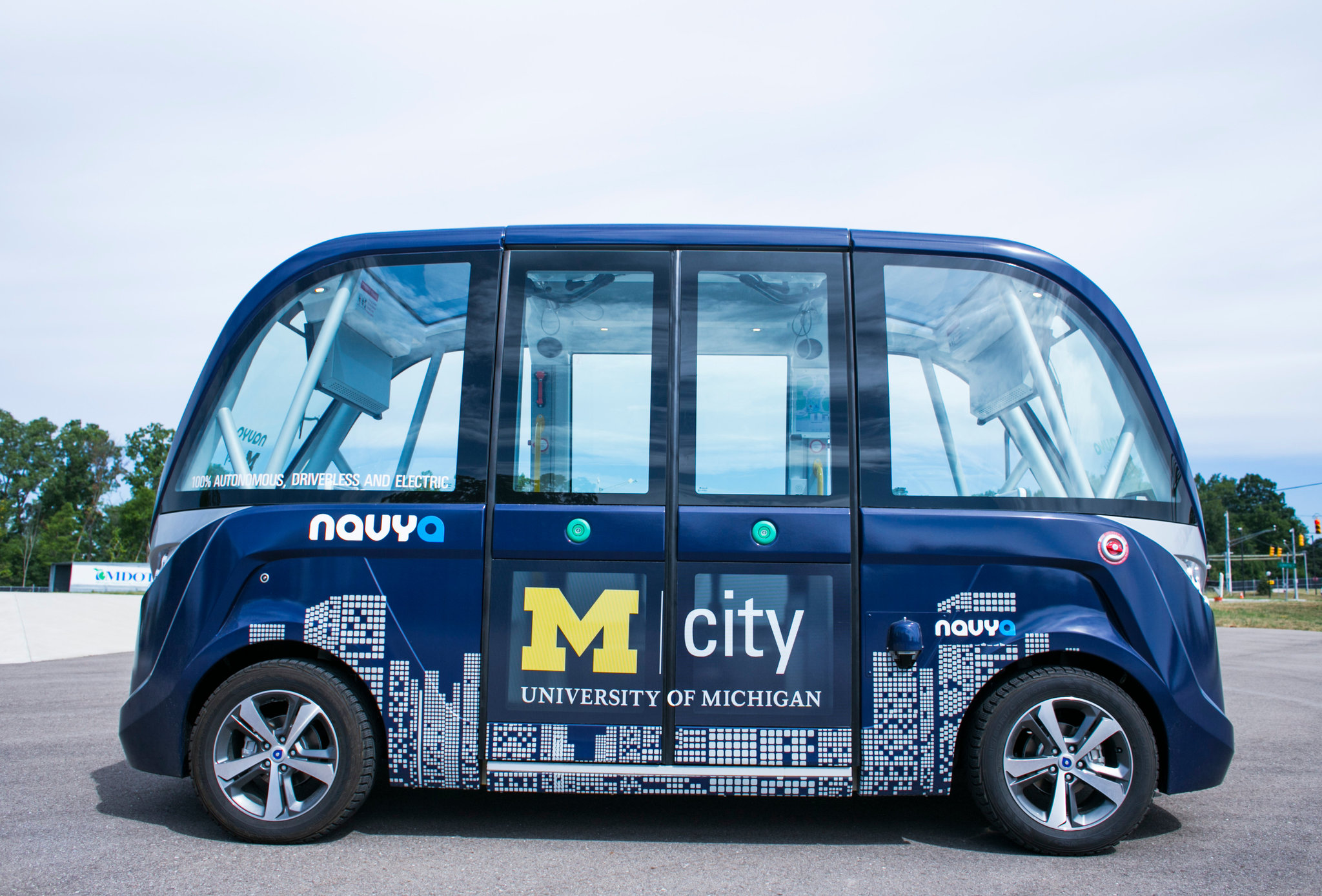 U of Michigan Driverless Car
